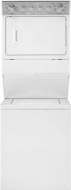 MGT3800TQ White Stacked Gas Washer And Dryer - MGT3800TWH 2.6 Cu. Ft. Capacity Washer, 5.9 Cu. Ft. Capacity Dryer