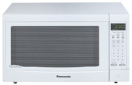 Panasonic 1300 Watts Family-Size 1.2 cu. ft. Microwave Oven NN-SN667W Sensor Cook White