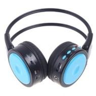 BoddBan® Wireless / Wired Headphones Stereo Wireless earphones FM SD/TF MP3 WMA WAV HIFI DIGITAL Music Player (Blue)