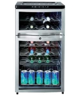 HD107WEN Drinks Chiller - Black.