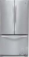 LG Freestanding Bottom Freezer Refrigerator LFC25770
