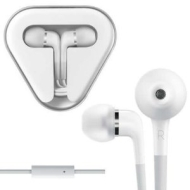 TKNO Handsfree Stereo Earbud Earphones with Microphone for Apple iPhone 4GS | iPhone4G | iPhone 3GS | iPhone 3G | iPhone 2G