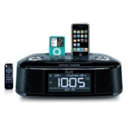 iLuv IMM173 Hifi Dual Alarm Clock for iPhone/iPod (Black)
