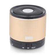 August MS425 Mini Altoparlante Bluetooth con Microfono - Potente Altoparlante Portatile Senza fili con VivaVoce - Compatibile con gli iPhones, Samsung