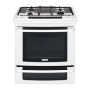 "Electrolux EW30GS65GB - Range - 30"" - built-in - with self-cleaning - black"