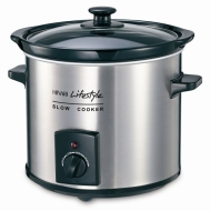 SC395SS Round SLOW Cooker