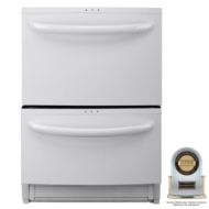 Kenmore Elite 24 in. Double Drawer Dishwasher w/ Sliding & Variable Position Tines