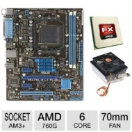 Asus M5a78l-m Lx Plus Amd 760g Am3+ Motherb Bundle