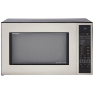 Sharp R-930CS - Microwave oven - freestanding - 42.5 litres - 900 W - stainless steel