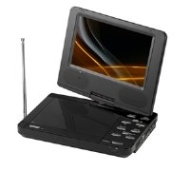 Supersonic SC-259 - DVD player with TV tuner - portable - display: 9""