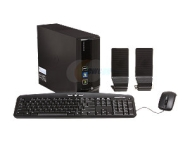 eMachines Black EL1358G-51w Desktop PC with AMD Athlon II X2 Dual-Core 220 Processor, 1TB Hard Drive and Windows 7 Home Premium (Monitor Not Included)