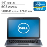 Dell Inspiron 14z Ultrabook, Intel Core i5-3317U 1.7GHz Windows 7
