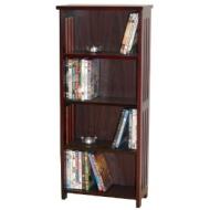 MISSION - CD DVD Blu-ray Media Storage Shelves - Dark
