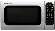 Sharp R-305KS - Microwave oven - freestanding - 28.3 litres - 1100 W - stainless steel