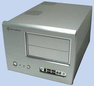 SilverStone SUGO SG01 - Desktop - micro ATX - no power supply ( ATX / PS/2 ) - black - USB/FireWire/Audio