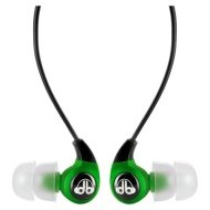 dBlogic EP-100 In-Ear Stereo Earphones (Green)