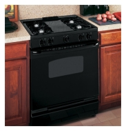 "JGSP28SENSS 30"" Slide-in Gas Range with 4 Sea"