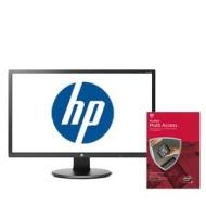 HP V242h 24 LED Backlit Monitor w McAfee AV