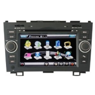 "Koolertron For 2007-2011 Honda CR-V In-dash DVD GPS Sat Nav Navigation Player With 7"" Digital HD Touchscreen + PIP RDS Bluetooth + Steering Wheel Cont"