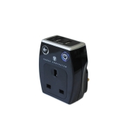 Masterplug SRGAUSBPB-MP Surge Protected Mains USB Charger