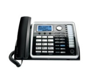 RCA 25216 2–Line Corded Phone Plus a 3rd Line Dedicated to your Cell Phone