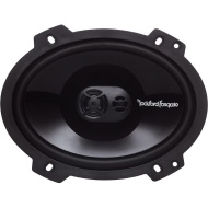 Rockford Fosgate Punch P1683 Speaker - 65 W RMS - 130 W PMPO - 3-way - 2 Pack - 65 Hz to 24 kHz - 4 Ohm - 90 dB Sensitivity - 6 x 8