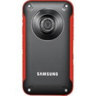 Samsung HMX-W300RN Rugged Full HD 1080p Pocket Camcorder (Red)