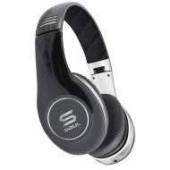 SOUL by Ludacris SL150CB HD On-Ear Headphones - Black/Chrome