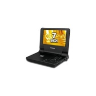 "Sylvania 7"" Portable DVD Player, Black"