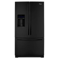 Whirlpool Gold 28.6 cu. ft. French Door Refrigerator - Black Ice