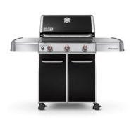 Weber Genesis E310 Natural Gas Grill, Black-6611001