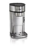 Hamilton Beach 49981 Single Serve Scoop Coffee Maker, Stainless Steel