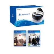 Playstation PlayStation VR Headset with Camera, PlayStation VR Worlds and GT Sport