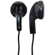 Ross HP2B-RS Earbud Headphones - Black