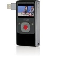 """Flip - U2120B-FR - Caméscope Ultra HD - Ecran LCD 2"""" - Zoom numérique - VGA / MP4 - 8 Go - Noir"""