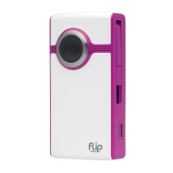 Flip Video UltraHD 1hr - Camcorder - High Definition - widescreen - 1.6 Mpix - internal flash memory - magenta