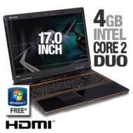 Gateway P-7805u FX Notebook PC - Intel Core 2 Duo P8400 2.26GHz, 4GB DDR3, 320GB, DVDRW, 17 WXGA+, Vista Home Premium 64-bit