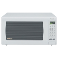 Panasonic NN-H765WF Full-Size 1-3/5-Cubic-Foot 1250-Watt Microwave Oven, White