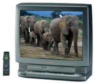 "Panasonic PV-DM2791 27"" TV/VCR/DVD"