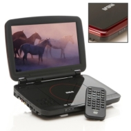 "RCA 10"" PORTABLE DVD PLAYER, # DRC6331"