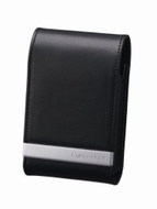 Sony LCS-THM/B Genuine Leather Soft Carrying Case for Sony T300, T70, and T2 Digital Cameras (Black)