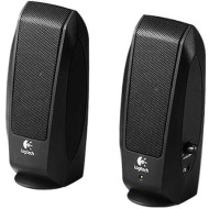 Logitech Inc Speaker System w/ headphone Jack Black