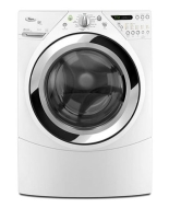 : WFW9750W 4.5 Cu. Ft. Energy Star Qualified Duet Front Load Steam Washer