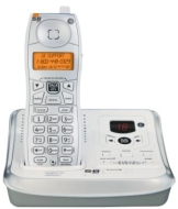 GE - 5.8 GHz Cordless Phone with Digital Answering system