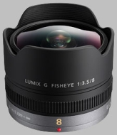 Panasonic 8mm Fisheye F/3.5 Micro 4/3 (5025232570881)