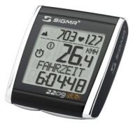 Sigma Bc2209Mhr Wireless Computer, Heartrate - Black