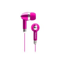 Coby CVE53PNK Jammerz Attitduz Stereo Earphones, Pink (Discontinued by Manufacturer)