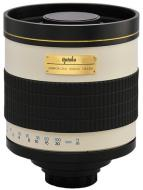Opteka 800mm f/8 Telephoto Mirror Lens for Canon FD SLR Cameras