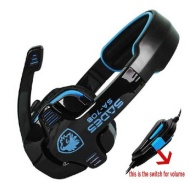 Pro Sades Game Gaming Stereo Headset Headphone with Micphone Mic for PC Laptop