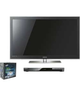 Samsung 43In HD Ready 3D Plasma TV, 3D Blu-ray and Glasses